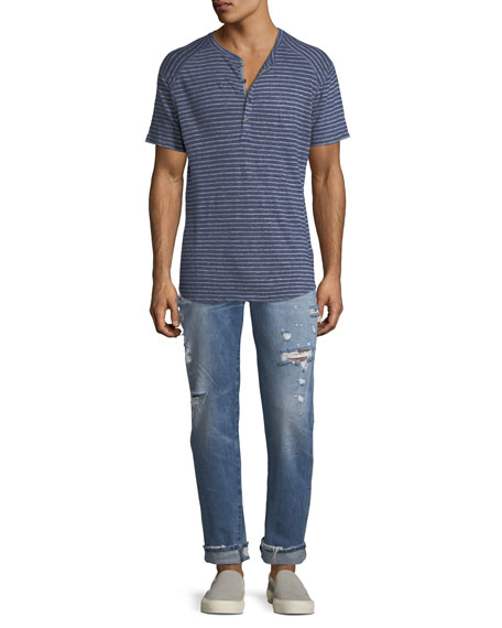 Men's Dixon Easy Straight Jeans, Landmark
