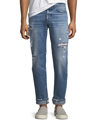 Dixon Easy Straight Jeans, Landmark