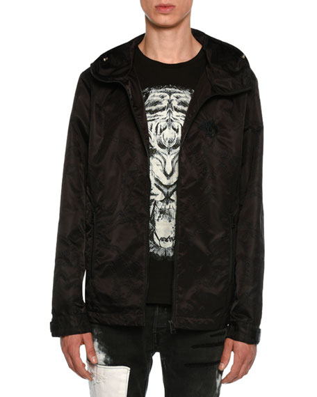 Embroidered Wind-Resistant Jacket