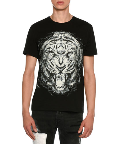 Lion Face Jersey T-Shirt