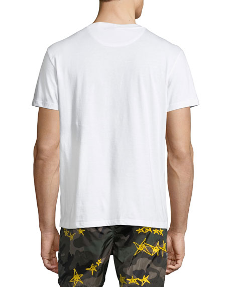 Logo-Stamp Jersey T-Shirt