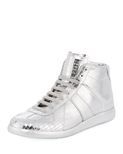 Disco Replica Mid High-Top Sneaker
