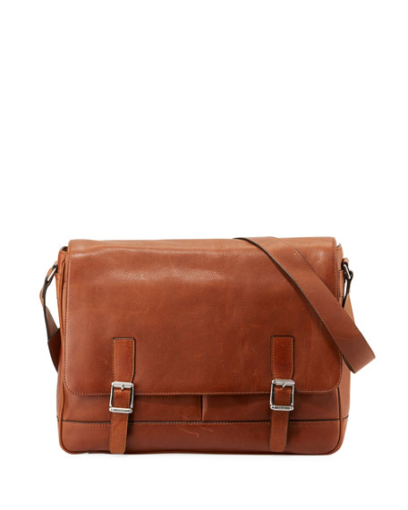 Frye Oliver Men's Flap Messenger Bag