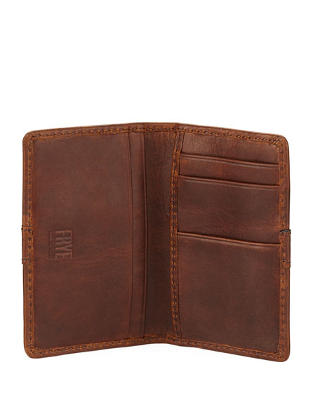 Oliver Tall Leather Bi-Fold Wallet