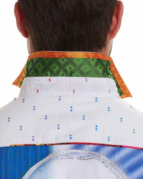 Limited Edition Dot-Print Sport Shirt