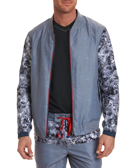 Nimble Reversible Bomber Jacket