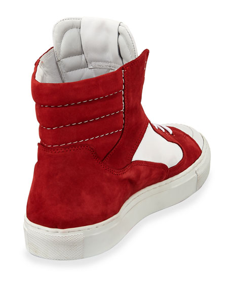 Men's Artel Suede High-Top Sneakers