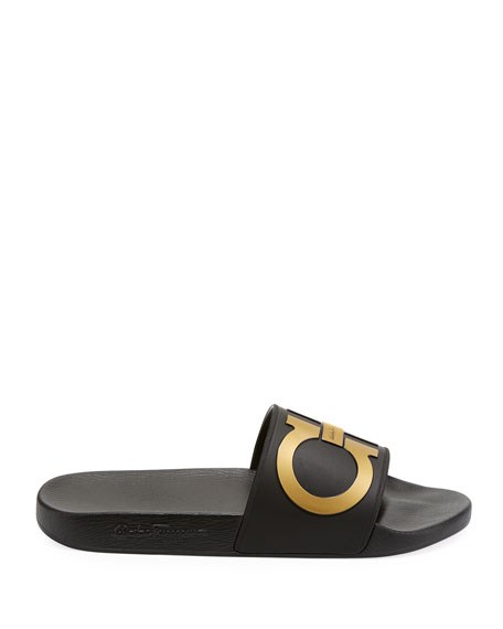 Men's Groove Gancini Pool Slide Sandal