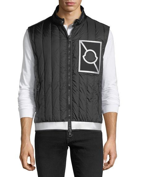 Alasia Quilted Zip-Front Gilet Vest