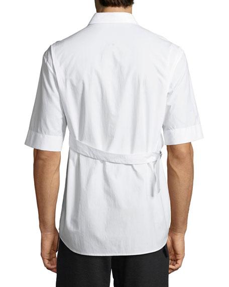 Bondage Adjustable Cotton Shirt