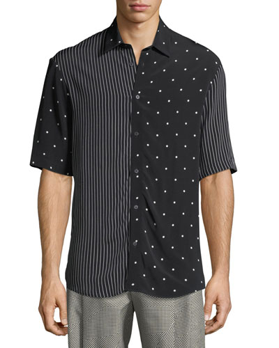 Sheehan Short-Sleeve Sport Shirt