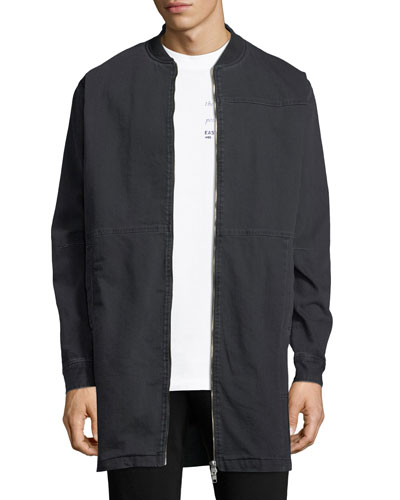 Curtis Recycled Twill Coat
