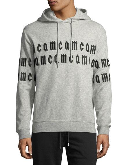 McQ Alexander McQueen Repeat Logo Hoodie