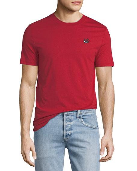 McQ Alexander McQueen Crewneck Cotton T-Shirt