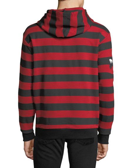 Striped Big Hoodie
