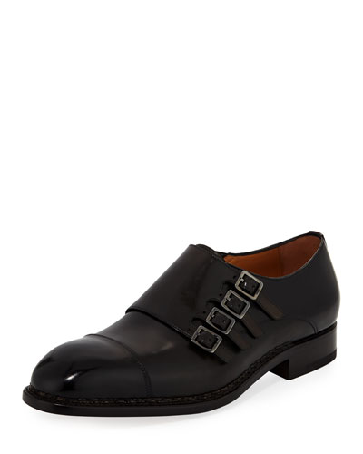 Tramezza Four-Monk Shoe
