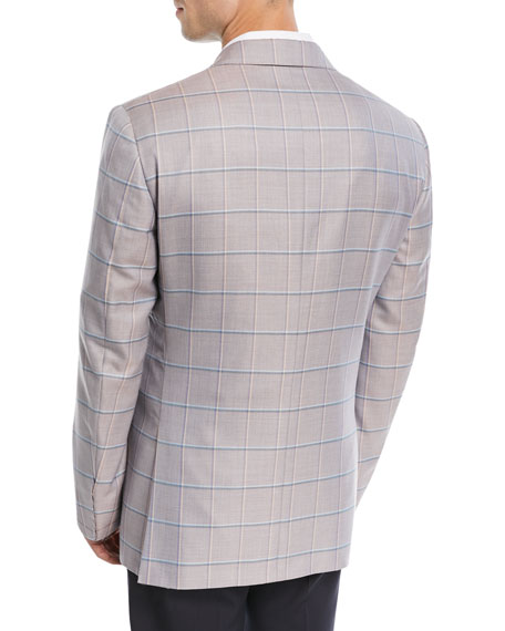 Cashmere Windowpane Sport Coat