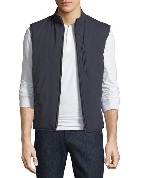 Ultra Light Quilted Zip-Front Vest