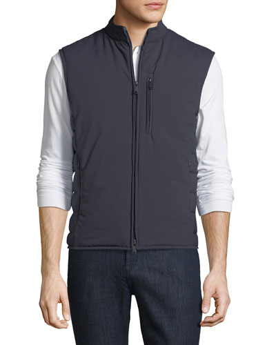 Ultra Light Quilted Zip-Front Vest