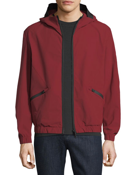 Water-Repellant Jacket w/ Hood