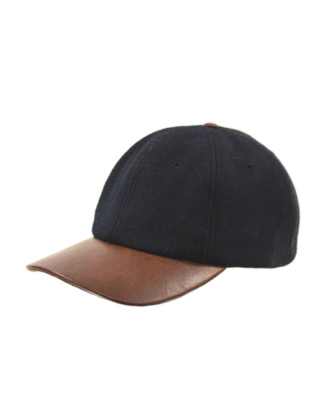 Melton Adjustable Baseball Cap