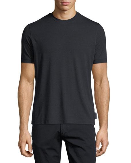 Emporio Armani Basic Short-Sleeve Solid Crewneck T-Shirt