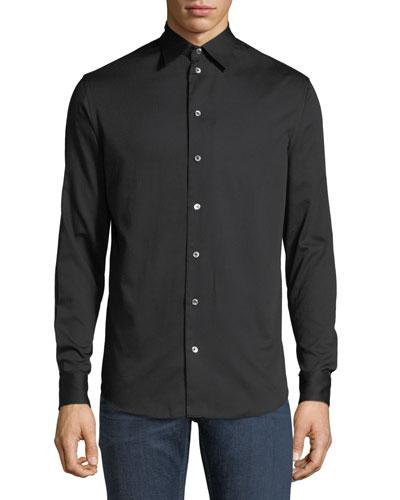 Basic Woven Sport Shirt