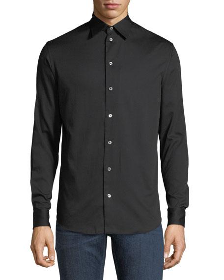 Emporio Armani Basic Woven Sport Shirt