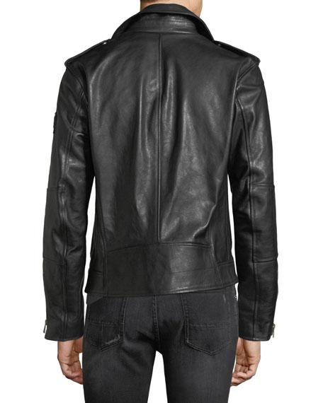 Sidmouth Leather Biker Jacket