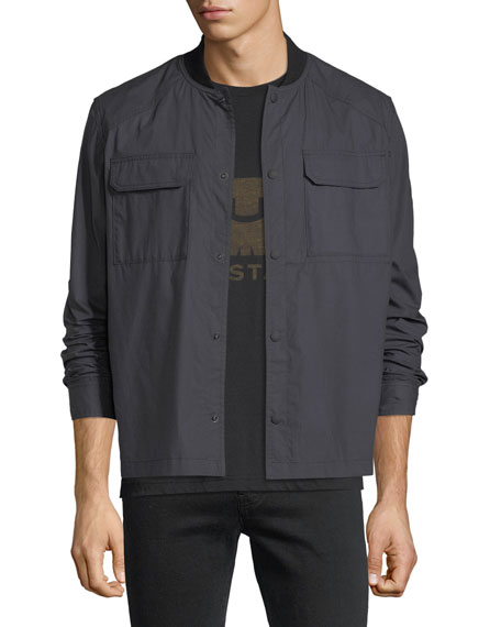 Belstaff Lightweight Snap-Front Jacket