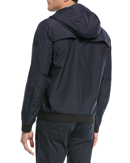 Lightweight Technical Hooded Jacket