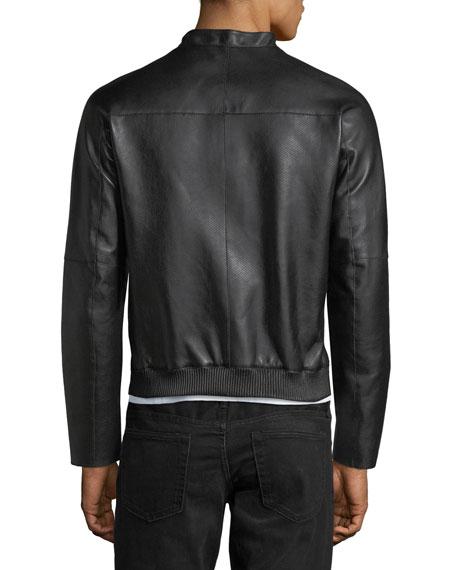 Napa Leather Bomber Jacket
