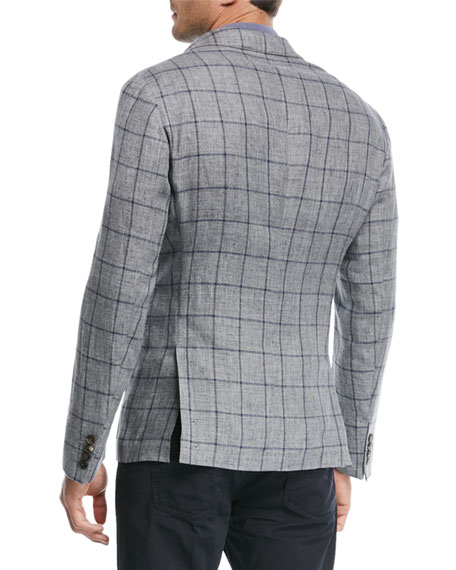 Windowpane Soft Jacket