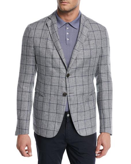 Windowpane Soft Jacket