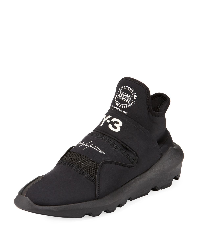 665777d1c6651 Y-3 Men s Suberou Fast-Strap High-Top Sneakers