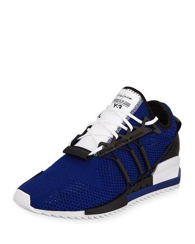 Men's Harigane Sock Sneaker, Blue