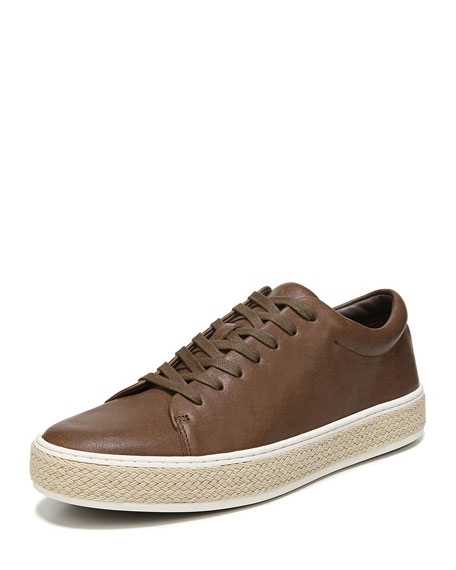 Ernesto Calf Leather Low-Top Sneaker