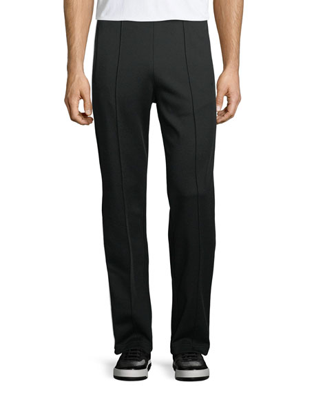 Maison Margiela Front-Seam Knit Trousers
