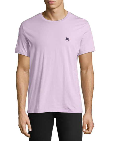 Burberry Joeforth Short-Sleeve Cotton T-Shirt, Light Pink