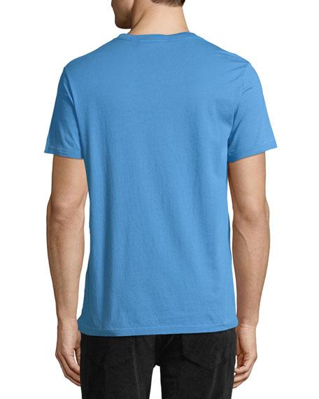 Joeforth Short-Sleeve Cotton T-Shirt, Blue