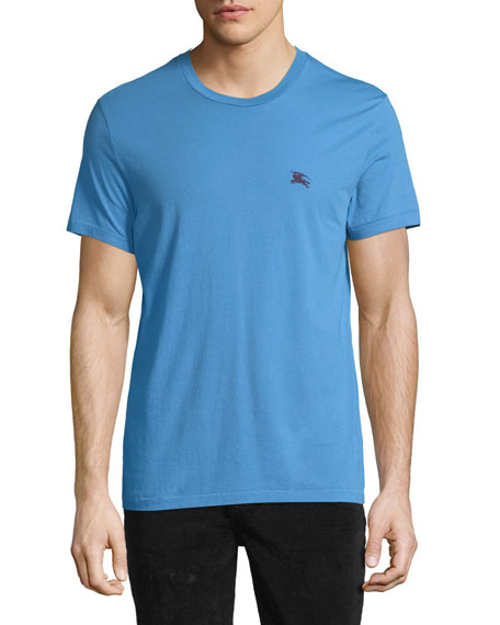 Burberry Joeforth Short-Sleeve Cotton T-Shirt, Blue