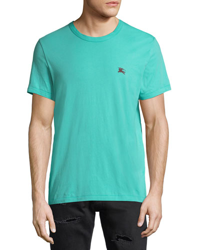 Joeforth Short-Sleeve Cotton T-Shirt, Turquoise