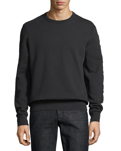 Kentley Embroidered Logo Sweatshirt, Black
