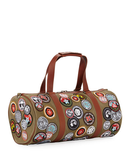 Men's Noe Patches Canvas Duffel Bag