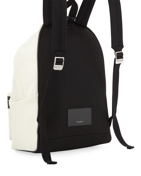 Waiting for Sunset Graphic Nylon Backpack