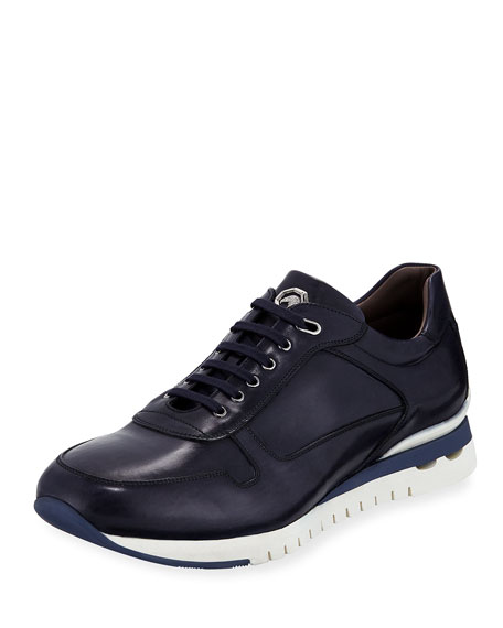 Leather Trainer Sneaker