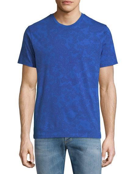 Etro Jersey Paisley Short-Sleeve T-Shirt