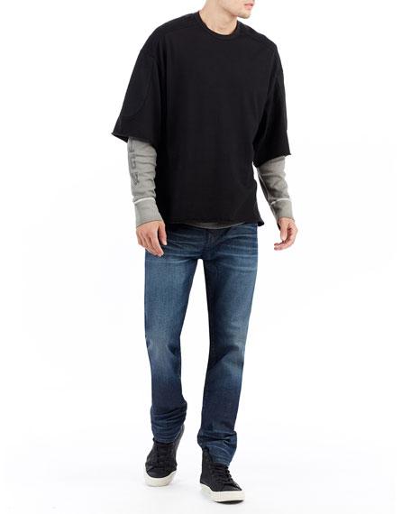 Side-Zip Street Varsity T-Shirt