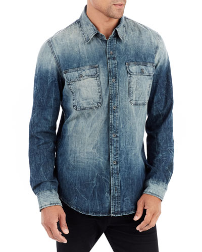 Denim Work-Wear Shirt
