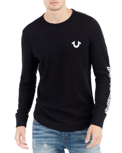 Logo Thermal Long-Sleeve Top